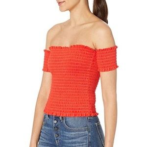 Juicy Couture Smocked Summer Sleeveless Tube Top M